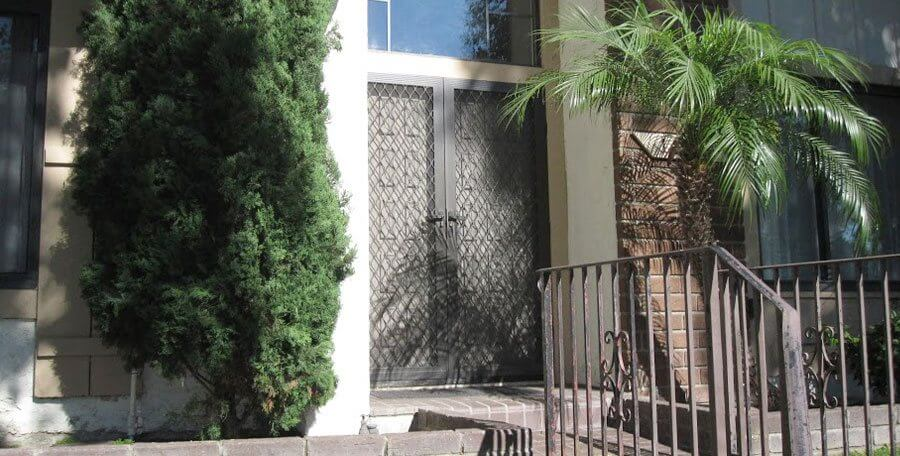 Metal Security Screen Door