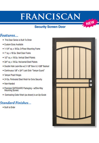 Steel Frame Security Doors