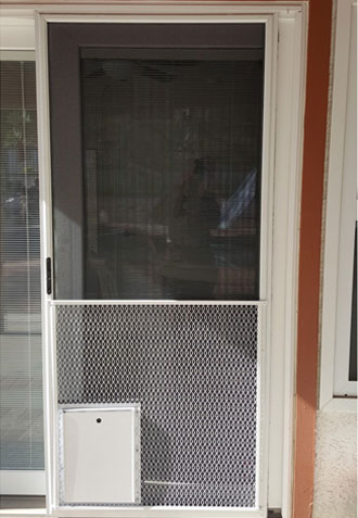 Pet Screen Doors Installation