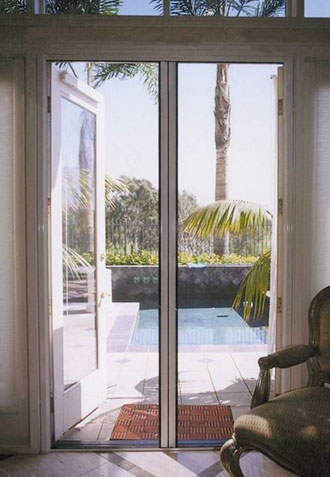 Disappearing Screen Door, Irvine
